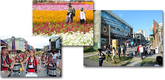 高雄市建置六大轉運中心帶動周邊地區觀光旅遊人潮。(圖∕鮑忠暉、張簡英豪 攝)