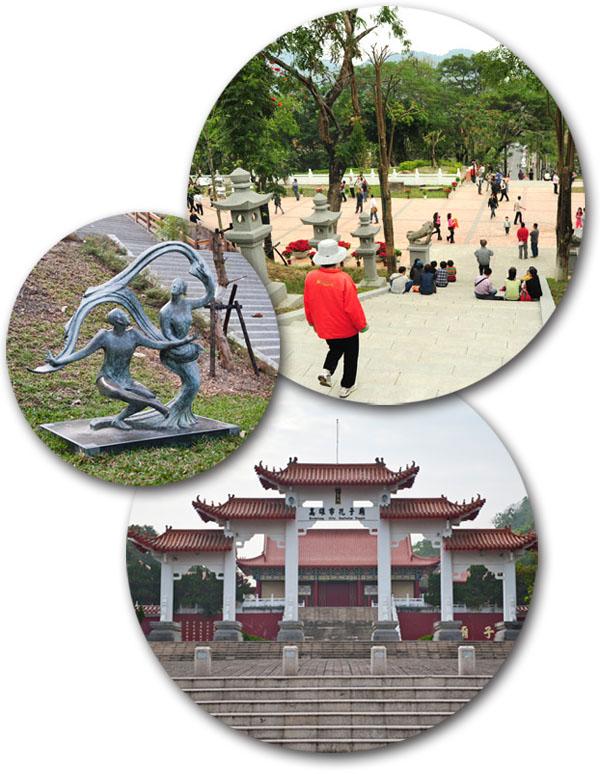 改建後的旗山鼓山公園重現百年風華。(圖∕鮑忠暉 攝‧李士豪 攝)