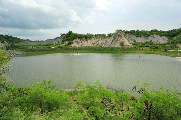 五里坑美景宛如桂林山水。(圖∕鮑忠暉 攝)