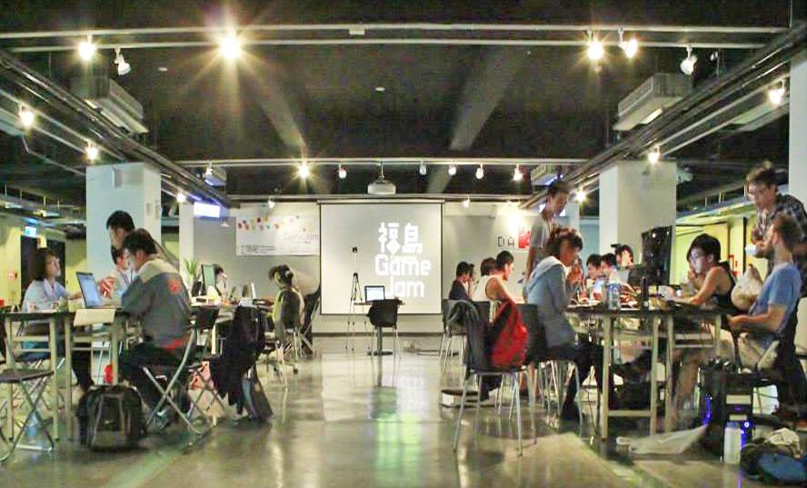 DAKUO共有工作場空間已成為高雄數位人才交流學習的場域。(圖∕高雄市數位內容創意中心提供)