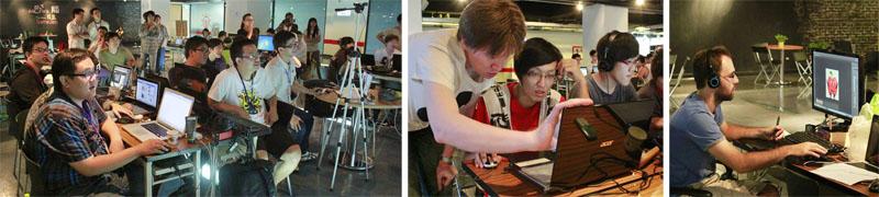 DAKUO不定期舉辦各種數位內容創意人才的培訓課程。(圖∕高雄市數位內容創意中心 提供)