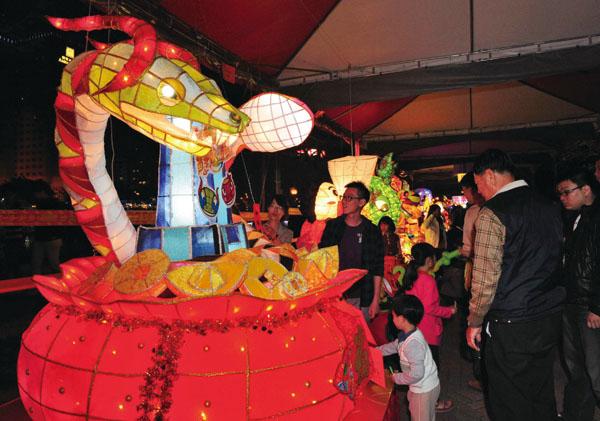 國際特色燈展  International lanterns exhibits
