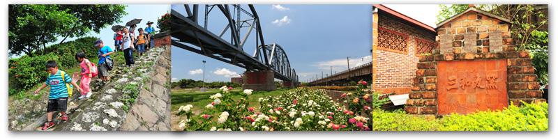 高屏溪一日遊更便利,搭乘公車即可飽覽舊鐵橋溼地、三和瓦窯等大樹知名景點。(圖∕鮑忠暉 攝)