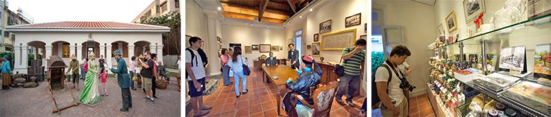 園區內的逼真蠟像重現百年前打狗榮景,現場另售有英式下午茶與文創商品。(圖∕李士豪 攝)