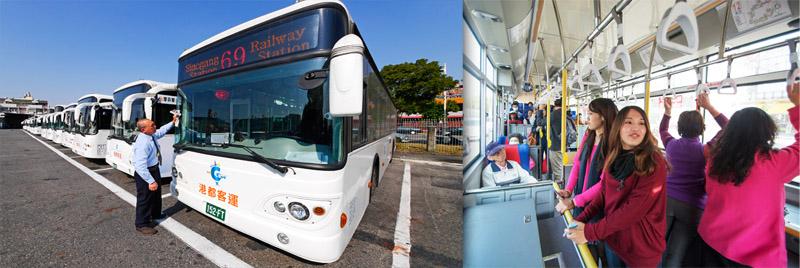 港都客運與六家民營客運業者聯營上路,開啟高雄市公車服務的新里程碑。(圖∕張簡英豪 攝‧李士豪 攝)