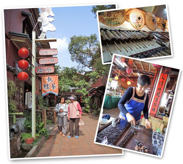 美濃民俗村是美濃客家文化的小縮影。(圖∕徐世雄 攝)