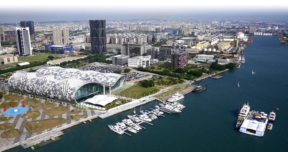 台灣國際遊艇展展現高雄遊艇產業實力。(圖∕張簡英豪 攝)