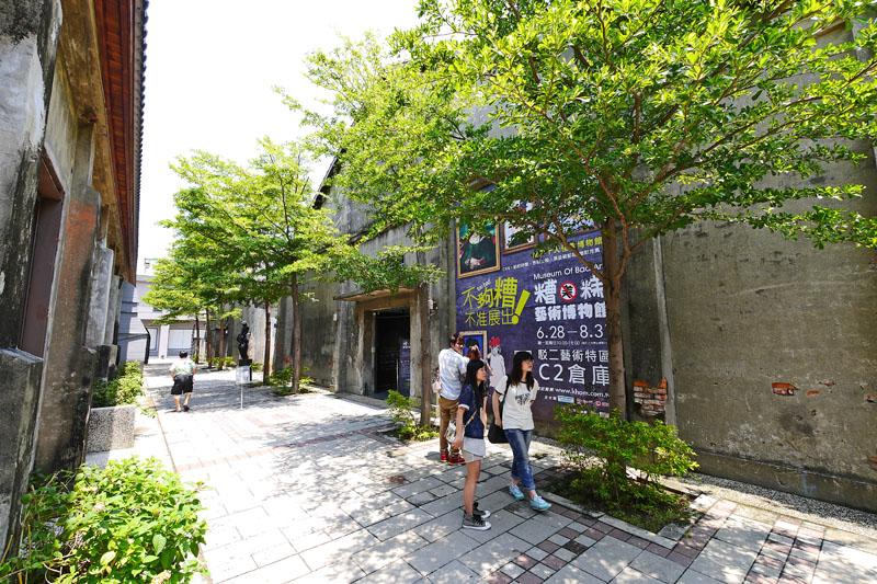 駁二藝術特區是高雄老舊建築再利用最成功的案例之一。(圖∕張簡英豪 攝)