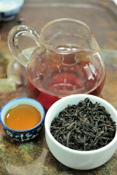 茶湯帶有豐富層次的香味 The tea's flavor has depth, revealing multiple layers