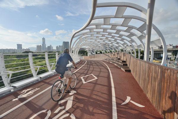 中山-凱旋自行車道 Jhongshan-Kaisyuan Bike Bridge