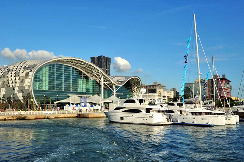 「2014台灣國際遊艇展」為高雄的遊艇及會展產業締造耀眼佳績。(圖∕鮑忠暉 攝)