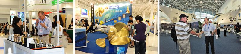 台灣國際遊艇展參展攤位逾860個,業界交流與民眾參觀皆踴躍。(圖∕鮑忠暉 攝)
