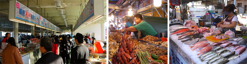 興達港漁夫市集的新鮮魚貨由產地直銷,每逢週六、日下午還有魚貨觀光拍賣。(圖∕高雄市興達港區漁會 提供、李昀諭 攝)