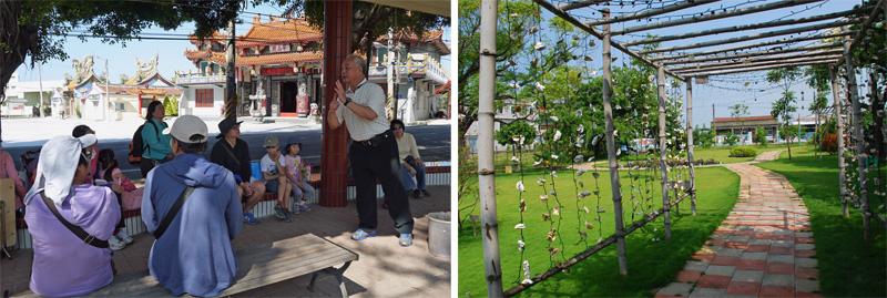 造訪「華山殿」與「頂新社區」,可感受路竹的文史厚度與人情之美。(圖∕李昀諭、張筧 攝)