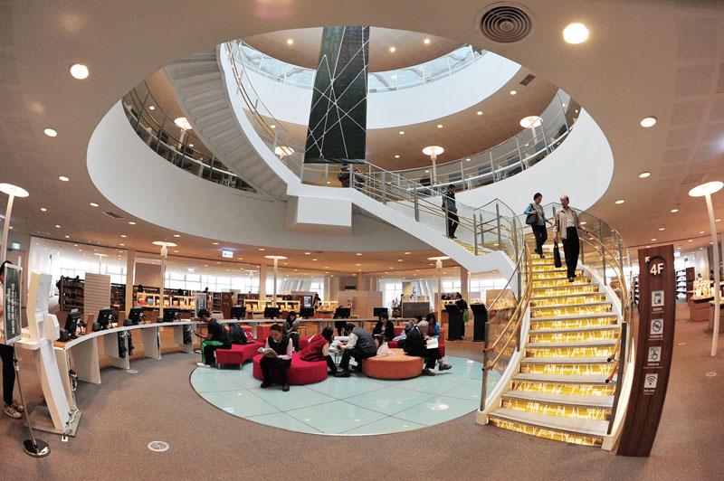 市立圖書館總館 Kaohsiung Main Public Library