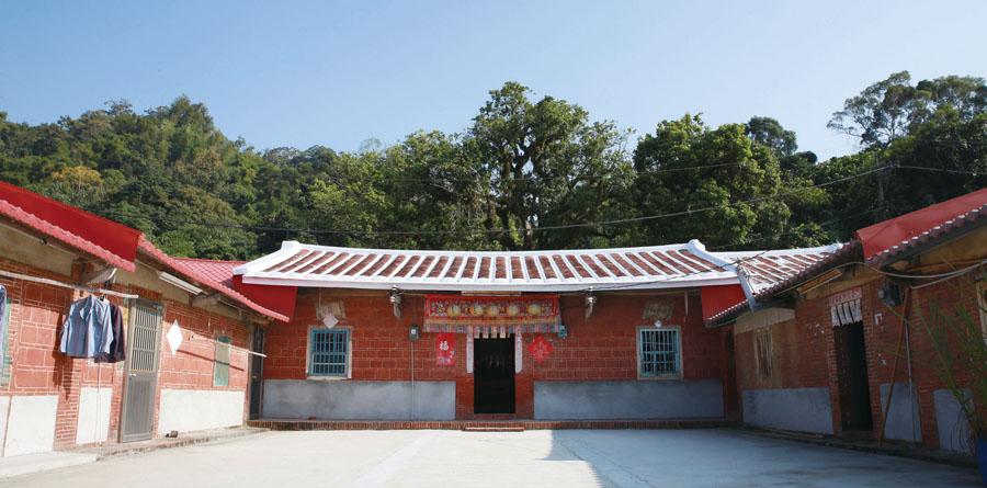 三合院聚落 Jinshan's traditional courtyard houses