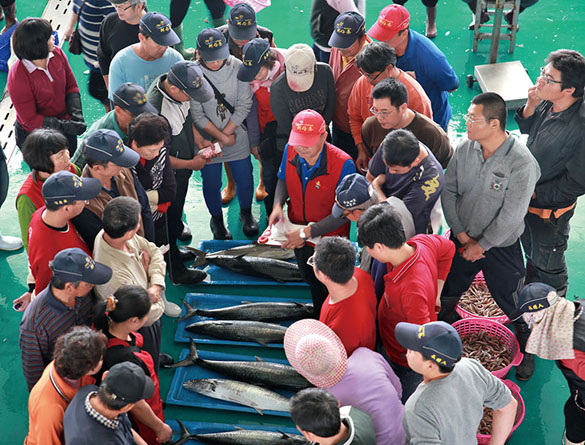 蚵仔寮漁市拍賣場 Kezailiao Seafood Auction
