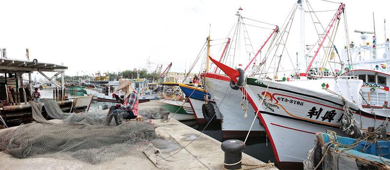 蚵仔寮漁港 Kezailiao fishing port