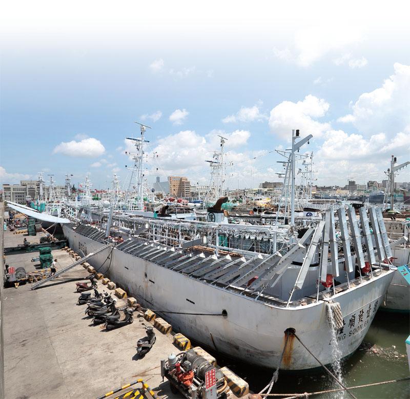 魷釣船 Squid Ships
