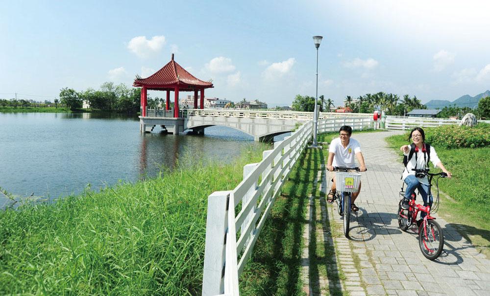 騎美濃 Biking in Meinong