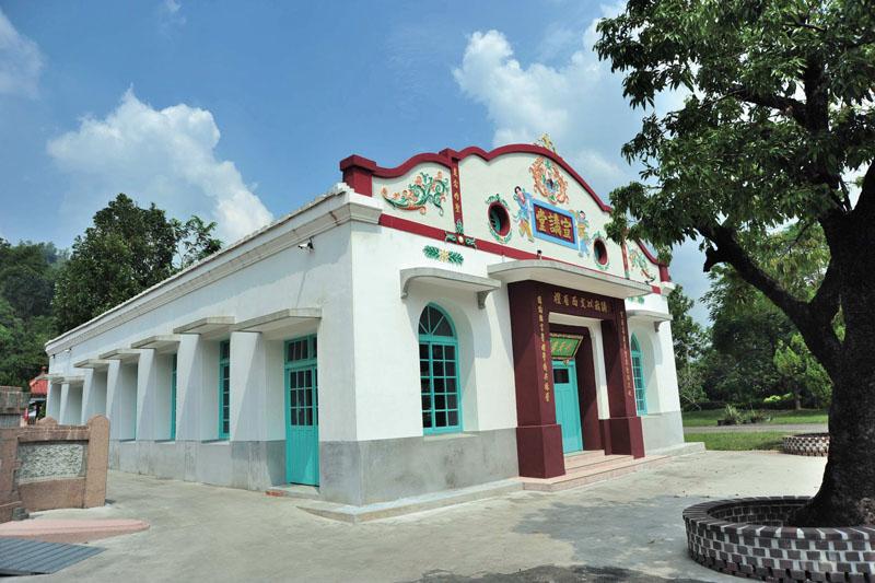 廣善堂附設的宣講堂 Guang Shan Temple - Lecture Room