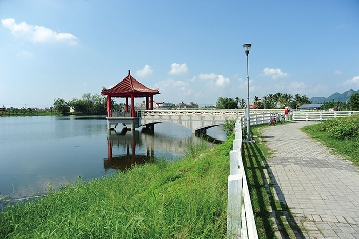 美濃中正湖Jhongjheng Lake in Meinong
