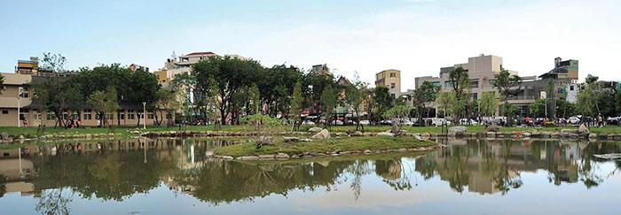 岡山公園Gangshan Park