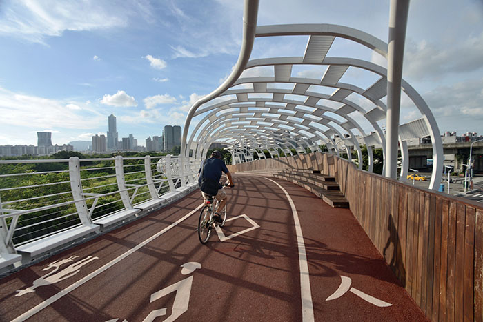 前鎮之星自行車道 The Star of Cianjhen bicycle bridge