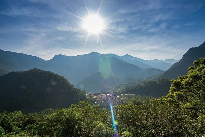 多納部落遠景 Duona enjoys panoramic views.