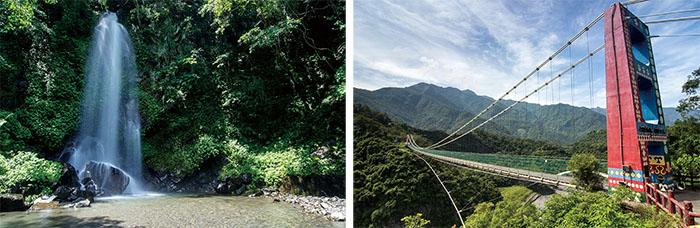 龍頭山 Longtoushan 多納高吊橋 Duona Suspension Bridge