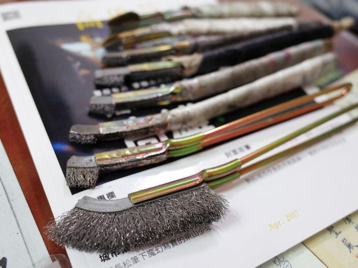 Iron Brush Art