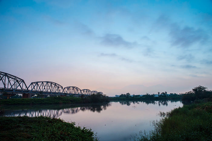 高屏溪曙光 Sunrise at Gaoping River