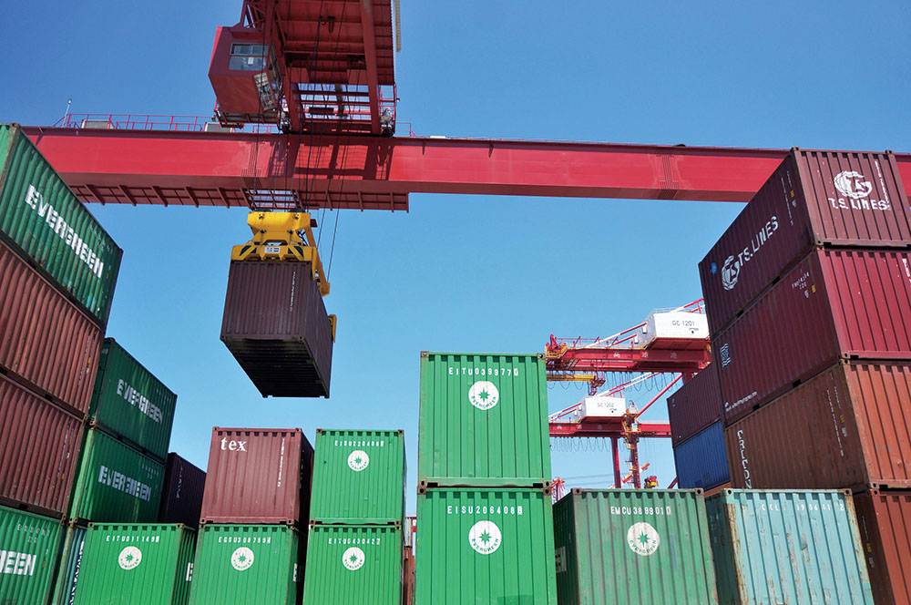 A Leading Container Transportation Hub