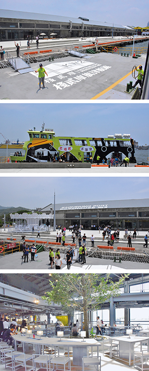Jhan-2 Warehouse Ferry Station Makes its Debut